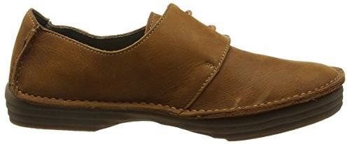 El Naturalista Nf80 Pleasant Rice Field, Ballerines Derby Femme Marron (Wood)