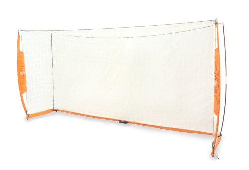 Schleife net Tragbares Fußball/Soccer Net – Orange, 8 X 24 ft Orange Soccer Net