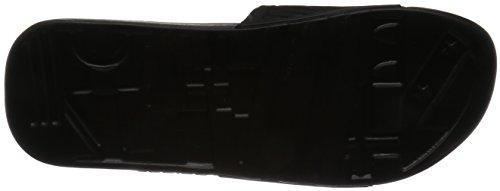adidas Herren Voloossage Pantoletten Schwarz (Cblack/ftwwht/cblack)