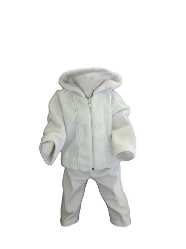 Juli Costume bébé Les jeunes enfants mariage Costumes Lave-vaisselle, 3pièces, Blanc Kamil - blanc - 9 mois
