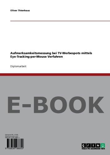Aufmerksamkeitsmessung bei TV-Werbespots mittels Eye-Tracking-per-Mouse Verfahren
