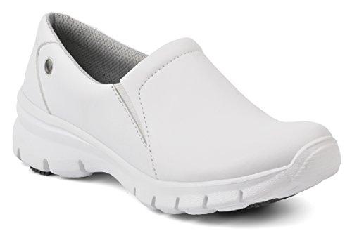 Suecos® Damen Nova Arbeitsschuhe, Weiß (White), 39 EU