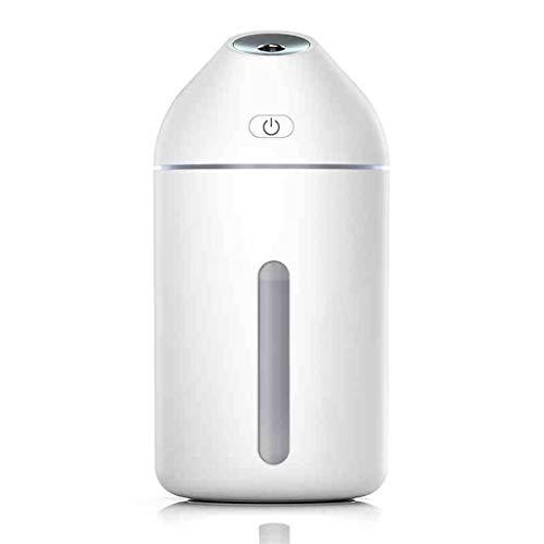 Qi Tai - Humidificador de Aire del hogar Mini USB humidificador pequeño portátil hogar silencioso Dormitorio Coche Aire Acondicionado hidratante Spray purificador (Color : A)