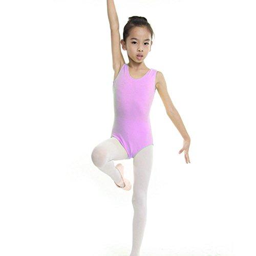 Moresave Bambini Ragazze Body Body Ballet Dance Party Discoteca Skater Skirt 4-13 anni