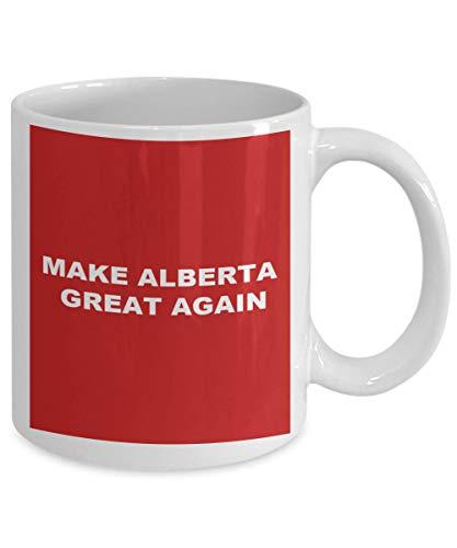Mike21Browne Machen Sie Alberta gro? Wieder Geschenk lustige Kaffeetasse der kanadischen konservativen Neuheit