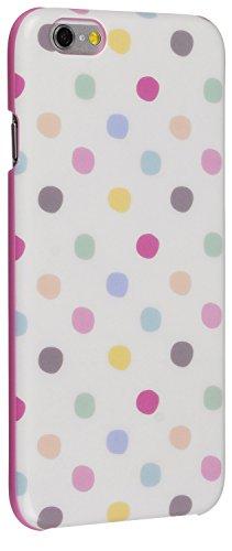 Caseit Hard Shell Clip-On Schutzhülle Case Cover für iPhone 6/6S - Transparent Klar Vintage Polka Dot