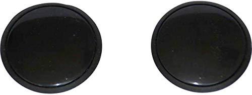 HP-Autozubehör 62820 Zierschrauben Set Schwarz 32mm
