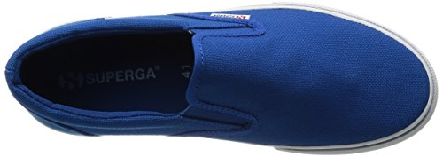 Superga 2311 Cotu, Baskets Basses mixte adulte Bleu - Blau (G03)