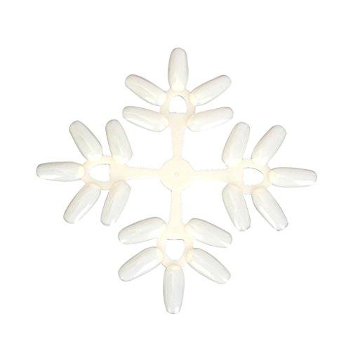 hunpta Schneeflocke natürliches Display Werkzeug Ständer Tipps Nagellack Farbe Karte Vorlage Sets
