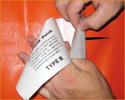 Stricker Chemie Reparaturset Tear-Aid Typ B Streifen