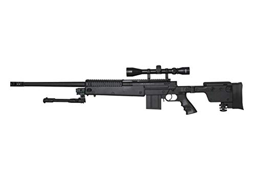 Well MB4407 Upgrade Airsoft Sniper Rifle, mit Metall Internals -Roedale Deluxe Edition- < 0,5 J. -