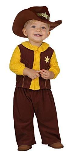 Fancy Me Baby Jungen Mädchen Cowboy Sheriff Wild West Book Day Halloween Kostüm Outfit
