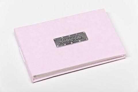 Granny's Brag Book - Soft pink pocket sized photo album