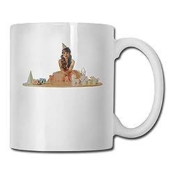 11 Oz White Ceramic Coffee Mug Melanie Martinez CUPS White One Size