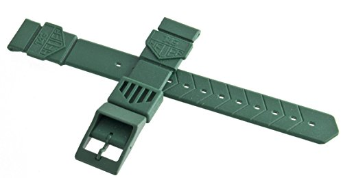 Tag Heuer formula 1gomma verde Watch Band strap 18mm