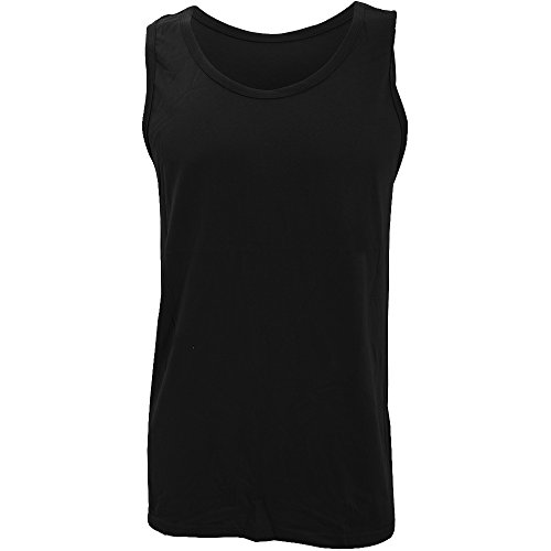 Mens Rib Knit Tanks (Gildan Mens Softstyle Adult Tank Top)