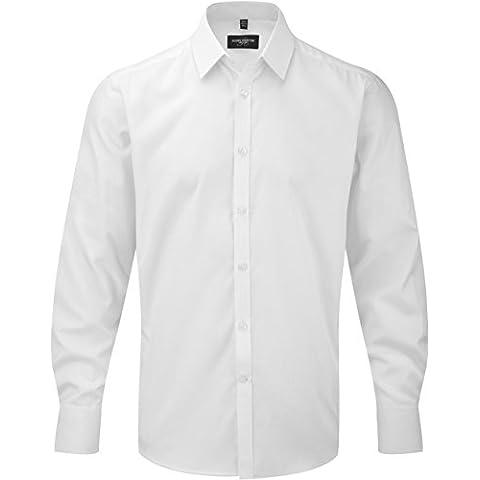 Camicia uomo maniche lunghe Herringbone - 125/130 g/m² - Uomo