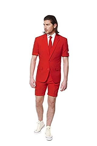 Opposuits Sommeranzug Red Devil (Frauen Red Devil Kostüm)