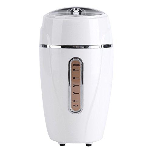 Preisvergleich Produktbild Hand-Luftbefeuchter, USB Luftreiniger Ultraschall Luftbefeuchter mit Stand Aroma Diffusor Portable Mini Mist Diffusor für Auto Büro(Weiß)