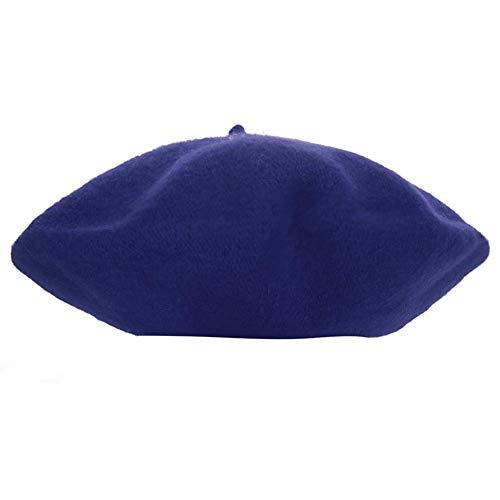 Lumanuby. Sombrero Boina Color Puro niñas 2 7 años