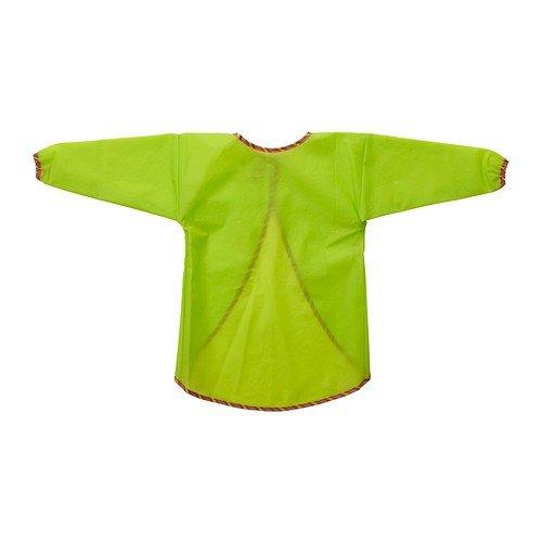 IKEA MALA - delantal con mangas largas, verde