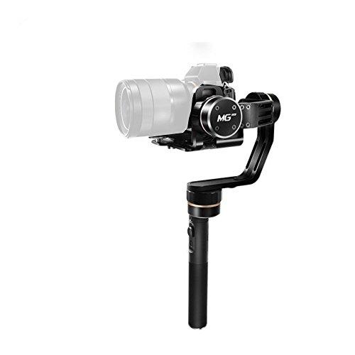 feiyu mg Lite Portable Cardan Vidéo Stabilisateur pour appareil photo Sony A7Series et NEX-5N, NEX-7et autres N-Series pour Canon 5D MarkIII, Panasonic GH4