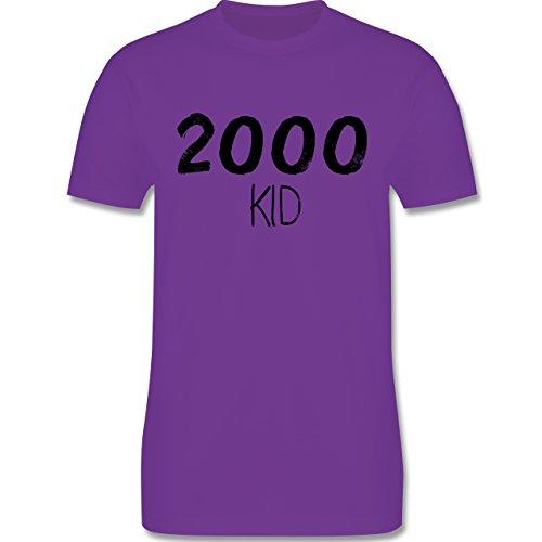Geburtstag - 2000 KID - Herren Premium T-Shirt Lila