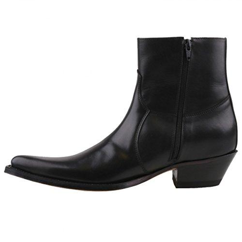 Sendra boots bottines 5200 noir Noir - Noir