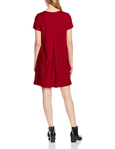 Molly Bracken Y066a16, Tunique de Plage Femme Rouge (Dark Red)