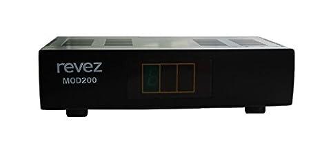 Revez MOD200 UHF VHF RF Modulator for Satellite, Terrestrial or CCTV Ch 1-69 Scart