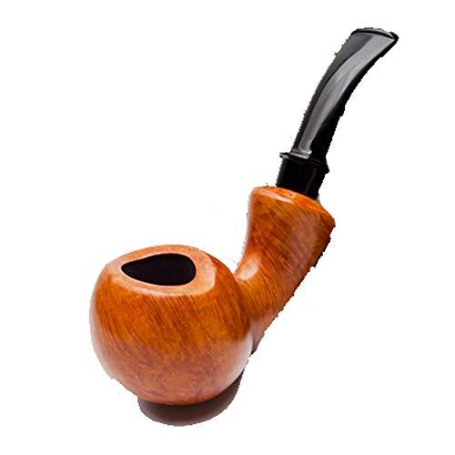 Les Hommes de la Pipe Shi Nanmu Fumer Ensemble Solide Bois courbé fabriqué à la Main maître Moyen Pipe Tabac Pipe spéciale