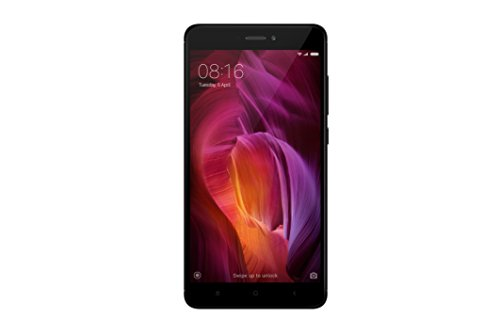 "Xiaomi Redmi Note 4 - Smartphone SIM doble 4G, 64 GB, 13 MP, Android 6.0, Negro, 14 cm (5.5"") [Version Europea]"