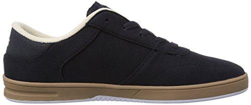 Etnies Lo-cut, Chaussures de Skateboard homme Bleu (Navy 401)