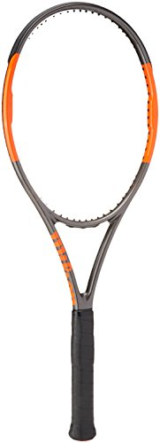 Wilson Burn 95 CVTNS FRM W/O Raqueta de Tenis, Unisex Adulto, Negro/Naranja (Frozen Smoke/Power Orange), 2