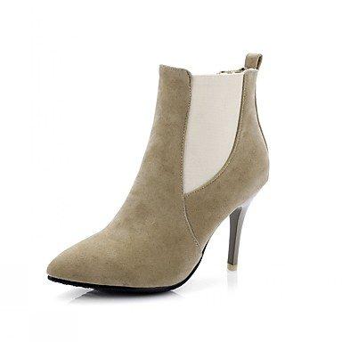 Moda Donna Sandali Sexy donna tacchi Primavera / Western Stivali / Neve / Stivali Stivali da cavallo / Moda / STIVALI DA MOTO Brown