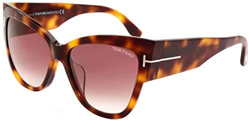 Tom Ford zzz Sonnenbrille Anoushka (57 mm) havana
