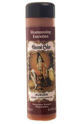 Henné Color Auburn (Mahagoni dunkel) Henna-Pflegeshampoo