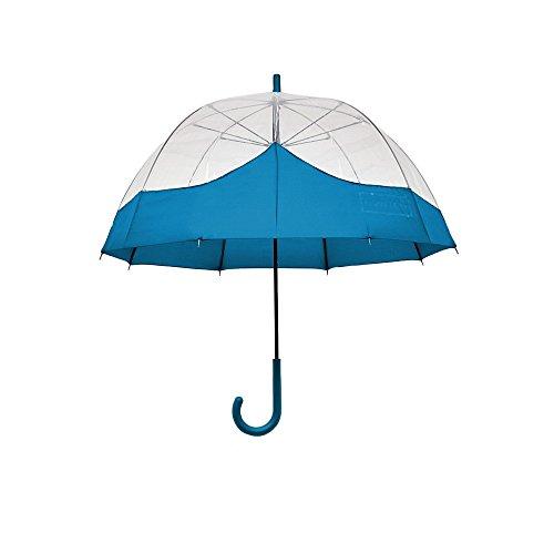 Hunter Original Moustache Bubble Umbrella Blue