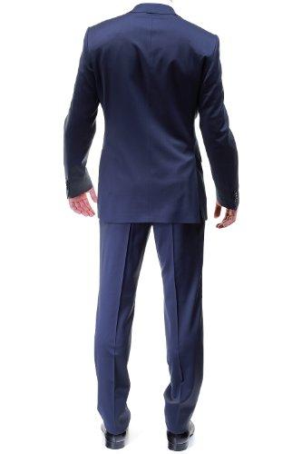 Lanificio F.lli Cerruti - Costume Milan Uni 010.3 Marine Bleu