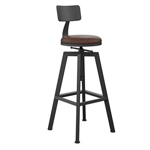 Swivel Barhocker (Haus möbel Retro LOFT Barhocker Küche Hocker Esszimmerstuhl Sitz Stuhl Höhenverstellbar Swivel High Hocker l Stühle und Hocker (Farbe : #3))