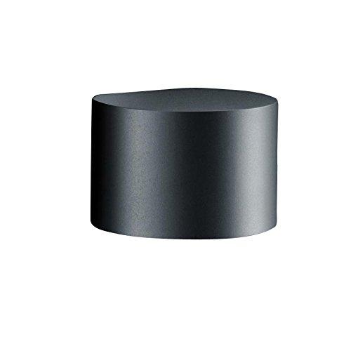 Helestra Siri 44-R LED Außenwandleuchte, schwarz matt BxHxT 15x10x12,5cm 3000K 520lm
