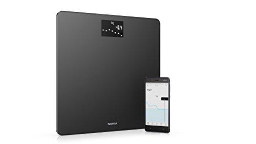 Nokia Body - Bilancia Wi-Fi con Calcolo IMC, Nero