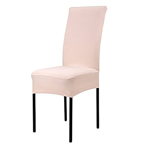 Greenmigo Super Fit Stretch Dining Room Chair Covers Protector,Banquet Chair Seat Slipcover for Hotel and Wedding