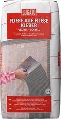 Lugato Fliesenkleber Fliese auf Fliese Flexibel + Schnell 20 kg