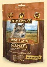 4 x 225g Wolfsblut Cracker Wide Plain High Energy getreidefreie Hundekekse mit 58% Pferdefleisch
