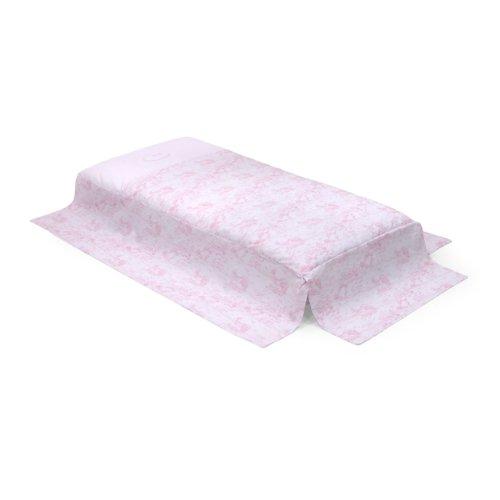 Cambrass Toile - Edredón para cuna, 60 x 120 cm, color rosa