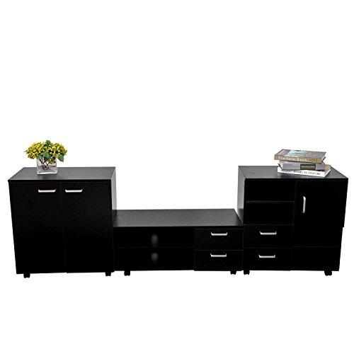 Homcom Living Room Mobile 3 Piec...