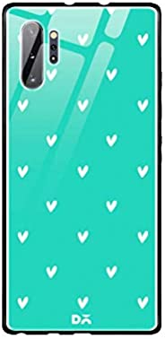 DailyObjects Bundle Heart Turquoise Glass Case Cover for Samsung Galaxy Note 10 Plus
