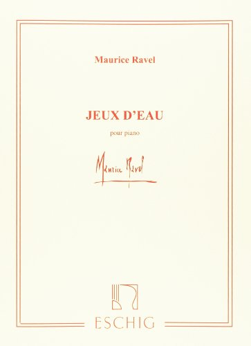 Jeux d'eau - Piano par Ravel M