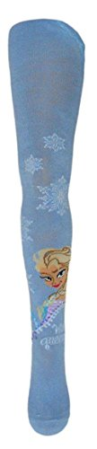 Disney Frozen - Die Eiskönigin - Collant - ragazza, Blau Elsa, Medium